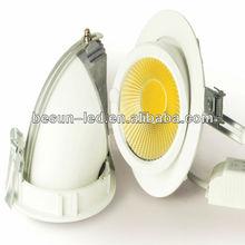 30W COB LED downlights warm natural cool white
