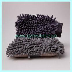 MIC6008 Microfiber Chenille cleaning sponge for car household resturant
