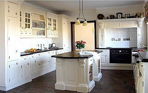 viktorianischen k che. Black Bedroom Furniture Sets. Home Design Ideas