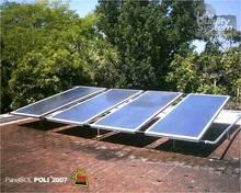 single solar water heater panel