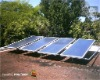 single solar water heater panel