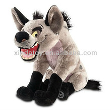 Vivid wolf stuffed forest animals toys