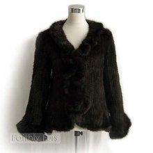 Mink Fur Knitted coat