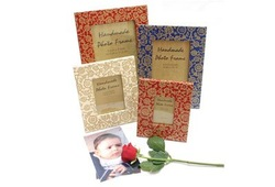 Flower Designs Photo Frames
