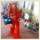 Simple structure hydraulic crane