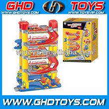 city parking lot toy car parking garage toy DIY toy car parking