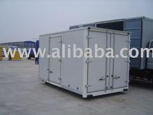 Insulated truck body (truck box)