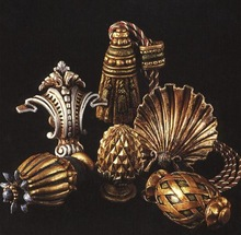 Decorative Finials for Drapery Rods
