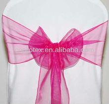 wholesale organza sash chair cover