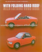 DOT NEV Electric Car Hard Top Convertible Cabriolet EV