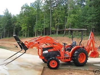 2007 Kubota L3940 tractors