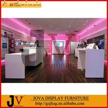 Fashion modern style mobile phone store furniture design(Free)