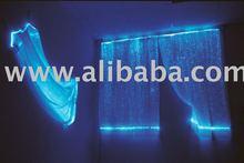 fiber optic curtain lighting