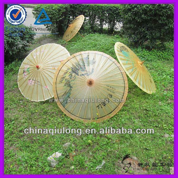 Paper Bamboo Parasol Japanese Paper Bamboo Parasol/