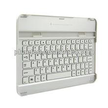 "aluminum keyboard case for samsung galaxy tab 10.1"" P5100"