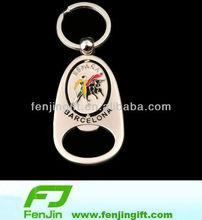 metal spain souvenir bullfight bottle opener keychain