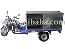 tricycle with close box and shelves