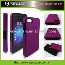 hybrid case for Blackberry Z10 cellphone combo case