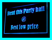 190117B Rent This Party Hall Beat Low Price Top Qualit Unified LED Light Sign