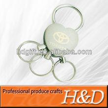 own design car logo enamel key chain with cheap price