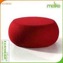 Dula modern design round modern footstool ottoman