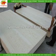 poplar finger joint wood pine face board