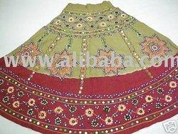 Women Apparel Rajasthani Ghagra Choli Dress.