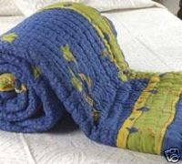 Rajasthani Quilt Rajai Blanket