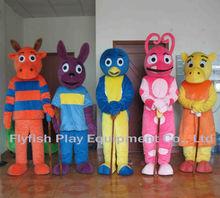 the backyardigan mascot costume