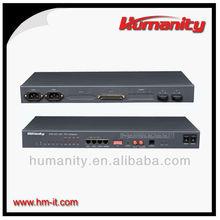 Humanity 4*E1 High Quality E1 Mux Optical multi E1 over optical 1+1 optical and electrical converter