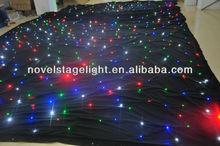 LED star cloth 4*6meter mixed RGB/led twinking stars led curtain lights