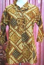 Batik Indonesia fabric