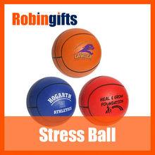 Interesting basketball PU stress ball