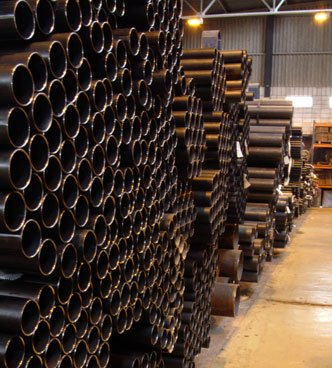 Welded and seamless Carbon Steel Tubes according to DIN and API Norm.