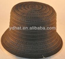 Washed fishing cotton bucket hat