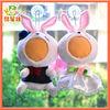 OEM wholesale custom photo 3d face plush doll