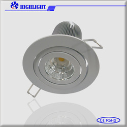 2013 prevalent in EU,Australia! 3inch 4inch 5inch 6 inch 8inch recessed COB downlight led Ce& RoHs high power led ceiling light