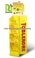 Toblerone bags cardboard displays /display