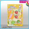 لعبة من البلاستيك 6 قطع الفاكهة الخضروات لعبة التناوبمع en71