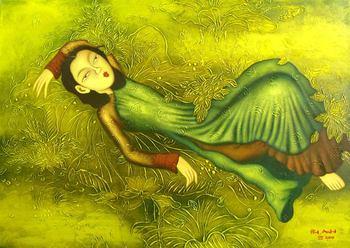 Vietnamese oil painting