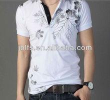 Korea fashion cheap custom printed t shirt