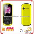 1.77 polegada 3 sim card telemóveis telefone celular blu F1