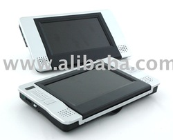 In Car Twin Screen DVD Player