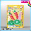 2013 ساخنة لعبة من البلاستيك الفواكه والخضروات شكل لعبة للاطفال