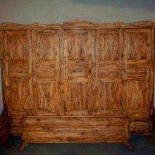 Olive wood bed room furniture