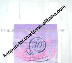 T-Shirt thank you Bag HDPE LDPE