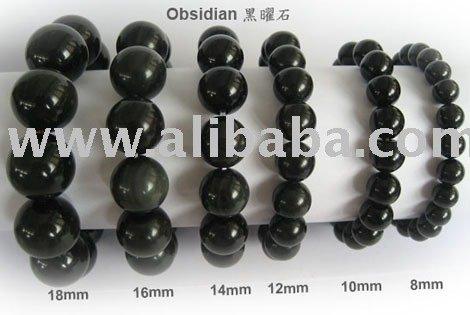 obsidiana pulsera