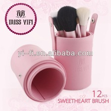 Brand!cylinder brush wholesale makeup brush sets airbrush kit