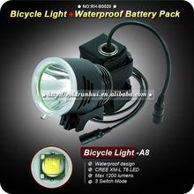 GoldRunhui RH-B0020 Cree XML T6 Bicycle Dynamo Light