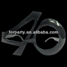 SGN-0692 Funny number party glasses